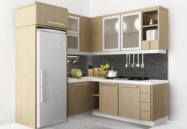Blog harga pasang kusen aluminium for Kitchen set terbaru