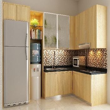 Kitchen set bogor harga pasang kusen aluminium for Harga pasang kitchen set