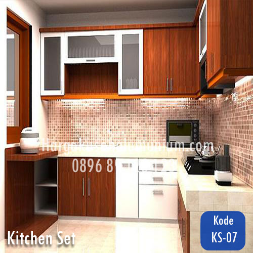 Harga model kitchen set murah 07 harga pasang kusen for Harga pasang kitchen set