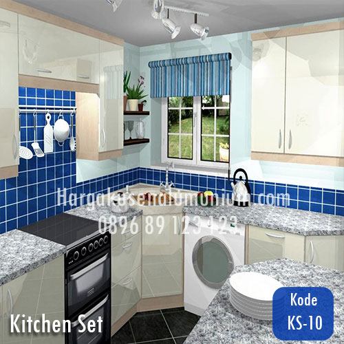 Harga model kitchen set murah 10 harga pasang kusen for Pemasangan kitchen set
