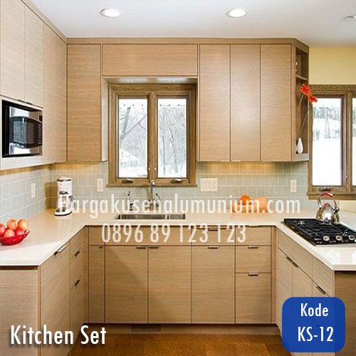 Harga model kitchen set murah 12 harga pasang kusen for Harga kitchen set aluminium