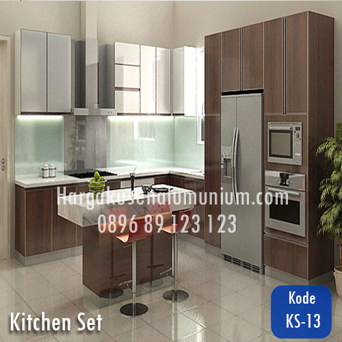 Harga model kitchen set murah 13 harga pasang kusen for Harga kitchen set aluminium