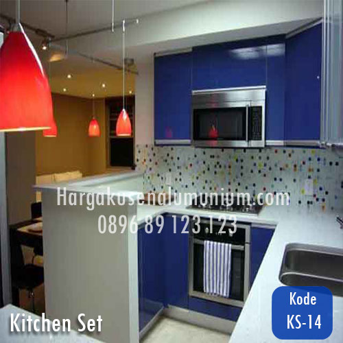 Harga model kitchen set murah 14 harga pasang kusen for Harga kitchen set aluminium