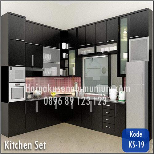 Harga model kitchen set murah 19 harga pasang kusen for Harga pasang kitchen set