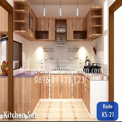 Harga model kitchen set murah 21 harga pasang kusen for Harga pasang kitchen set