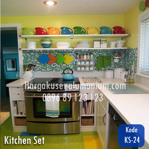 Harga model kitchen set murah 24 harga pasang kusen for Harga pasang kitchen set